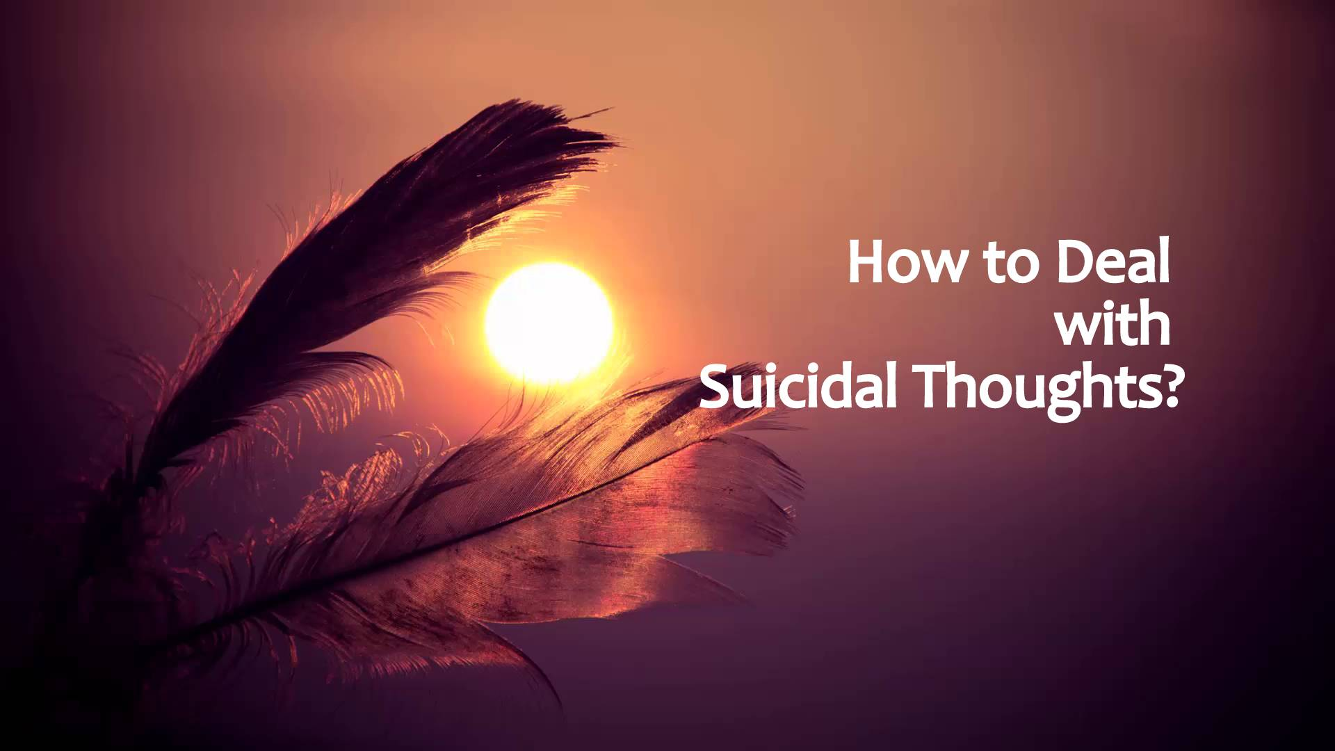How To Deal With Suicidal Thoughtsq on Explain Spirit Soul Body