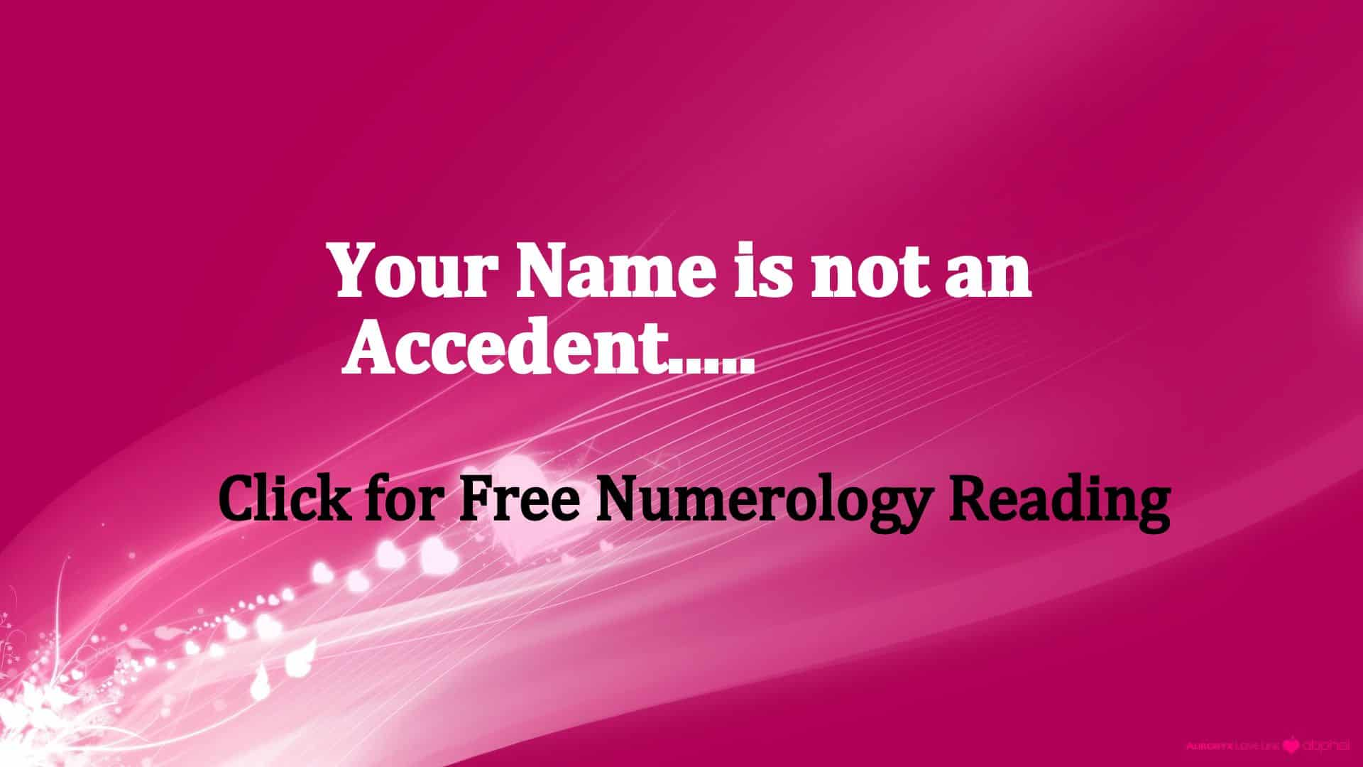 Name Numerology : What Does My Name Mean - Life In Vedas