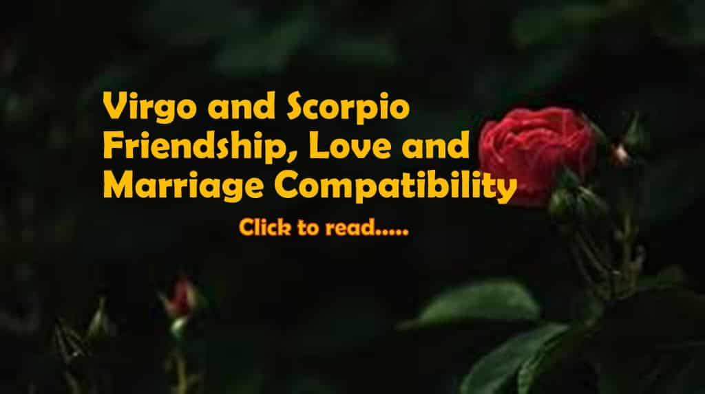 Virgo Scorpio Compatibility Friendship, Love, & Marriage