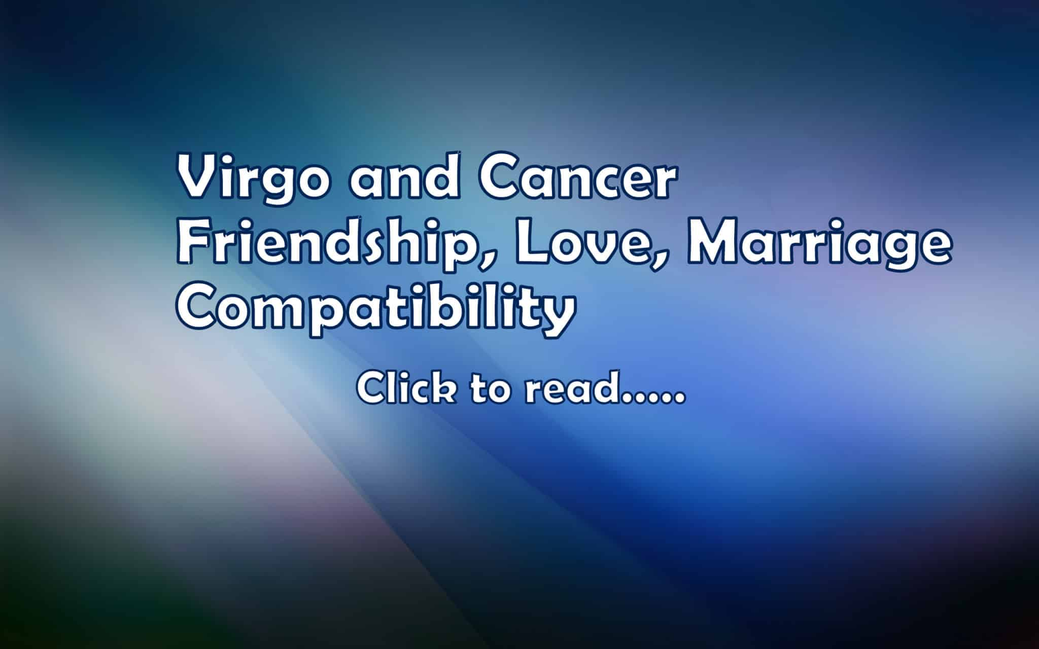 Virgo and virgo friendship
