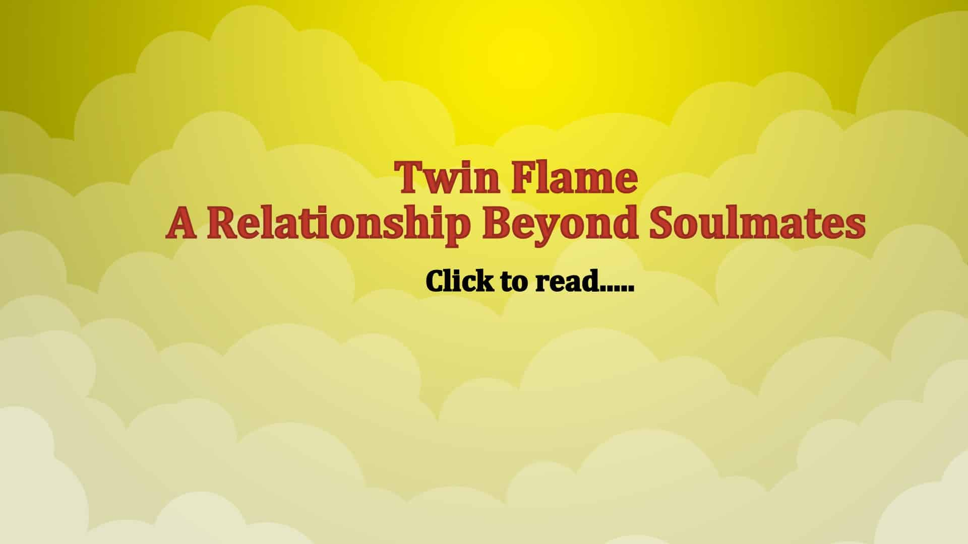 Twin Flame Love Signs Stages - Life In Vedas